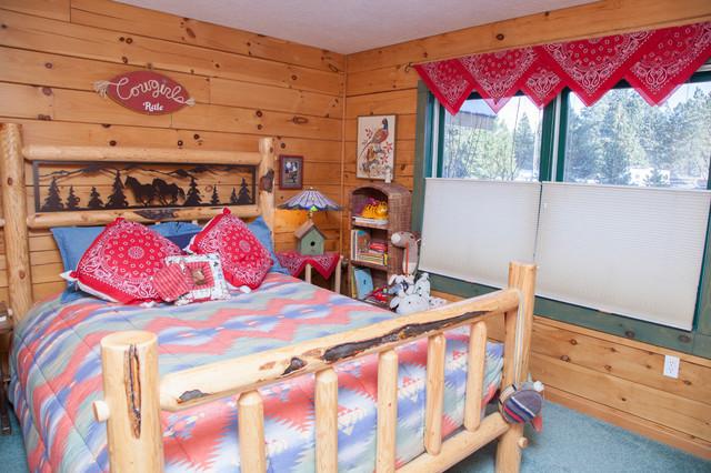 Rustic Bedroom Eclectic Bedroom