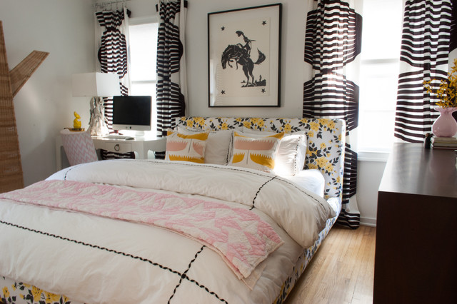 My Houzz: Steve and Amber Frazee eclectic-bedroom