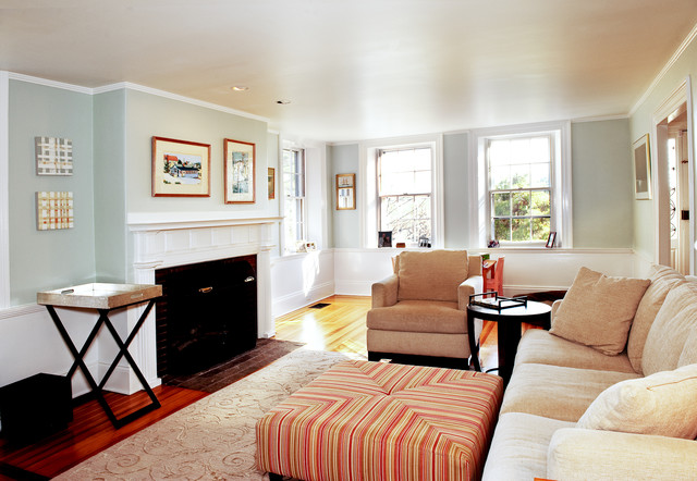 My Houzz: Updated Federal-Style in Massachusetts traditional-bedroom