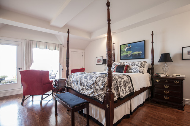 My Houzz: Upscale Townhome With A View In Downtown St. John's traditional-bedroom