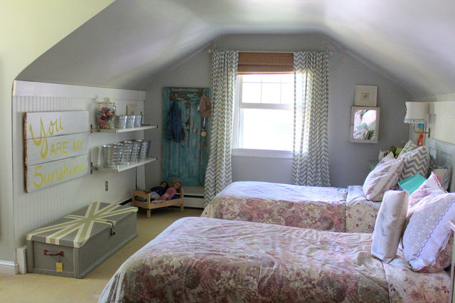My Houzz Vintage Farmhouse Style Bedroom