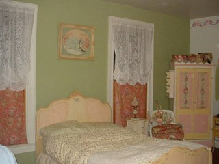 my painted bed and armoire traditional bedroom new. Black Bedroom Furniture Sets. Home Design Ideas
