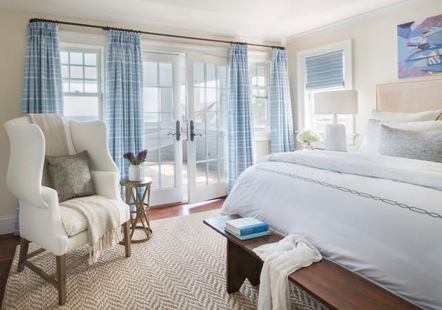 My work: Shinglestyle beach house beach-style-bedroom