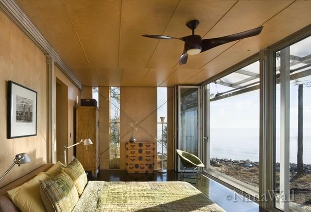 NanaWall SL70 modern-bedroom