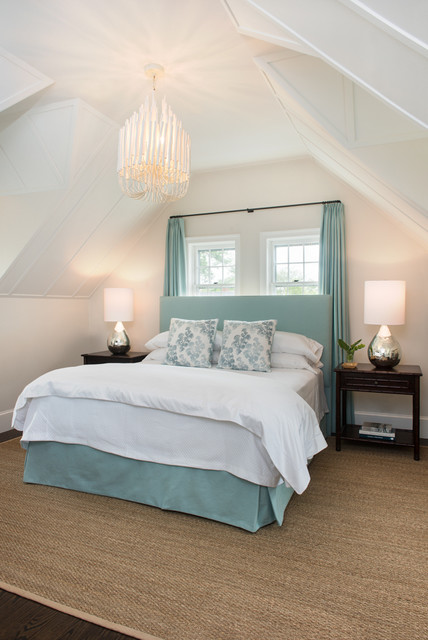 Nantucket Gatehouse Beach Style Bedroom Boston By Annsley Interiors
