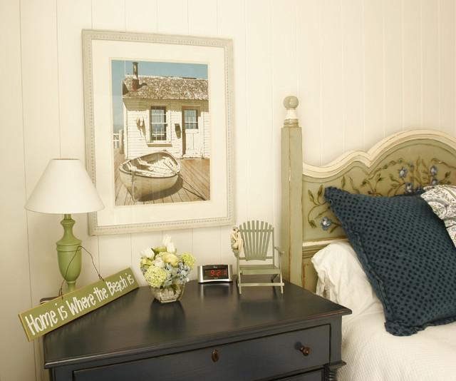 Nantucket in So Cal beach-style-bedroom