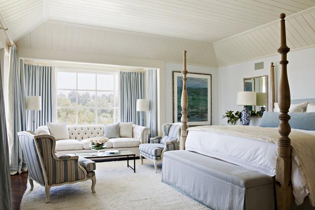 Nantucket In The Palisades Traditional Bedroom Los