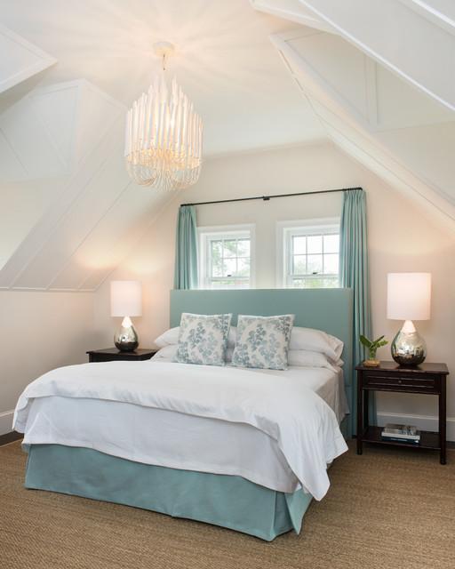 Beach style bedroom design by boston photographer ben gebo photography