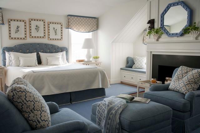 Nantucket Summer Home Traditional Bedroom Boston