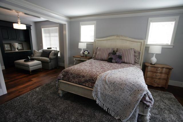 Napa Valley Tuscan Custom Home traditional-bedroom