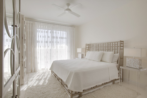 contemporary bedroom Color of the Month: Decorating with White