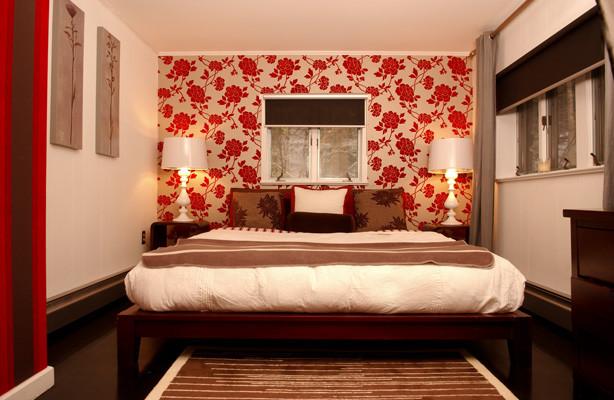 Inspiration for an eclectic bedroom remodel in Philadelphia