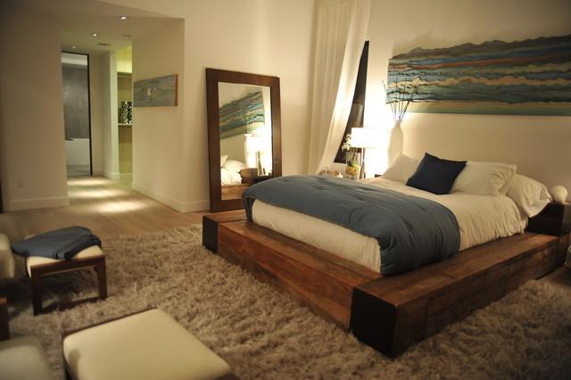 Natural Bedroom modern-bedroom