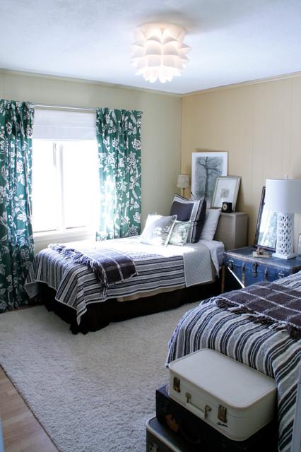 Natural Guest Bedroom eclectic-bedroom