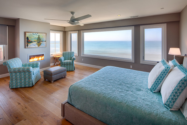 Nautica Beach Style Bedroom San Diego By Hill Construction Company