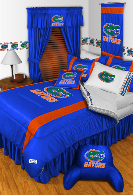 Ncaa Florida Gators Bedding And Room Decorations Traditional Bedroom