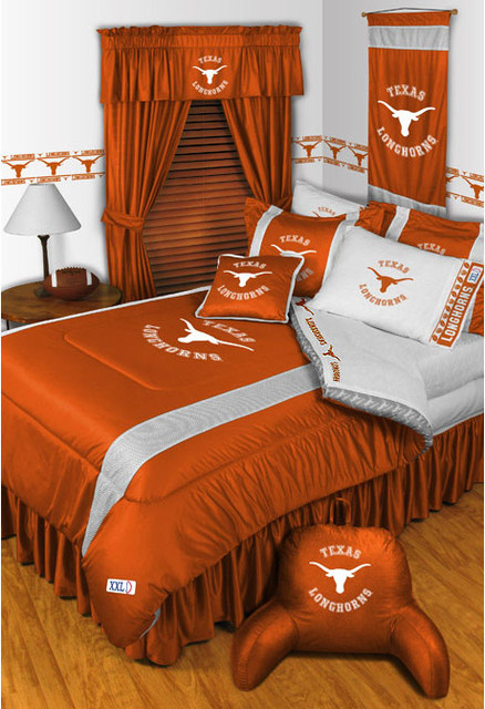 NCAA Texas Longhorns Bedding and Room Decorations - Modern ...