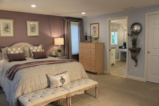 Needham Bedroom Decoration Traditional Boston By Chic Redesign