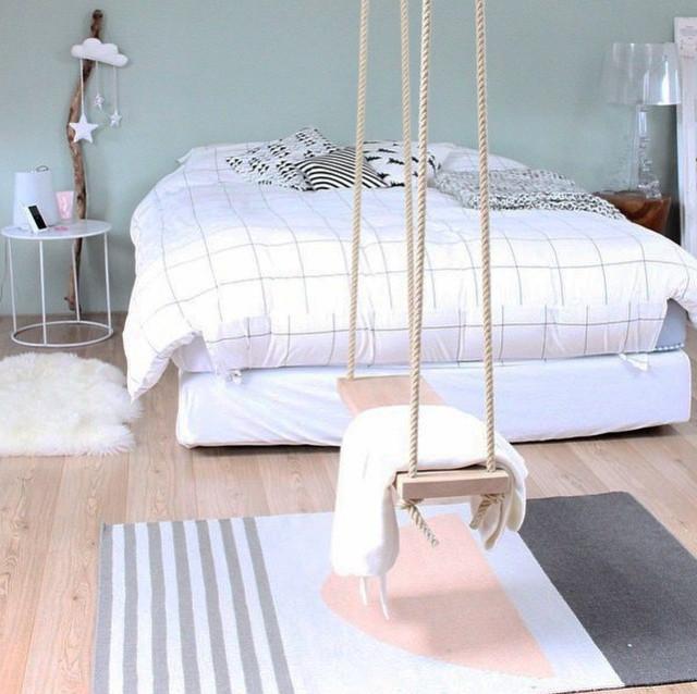 Nema Kilim Rug Eclectic Bedroom