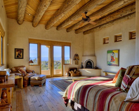 southwestern master bedroom home design photos decor ideas