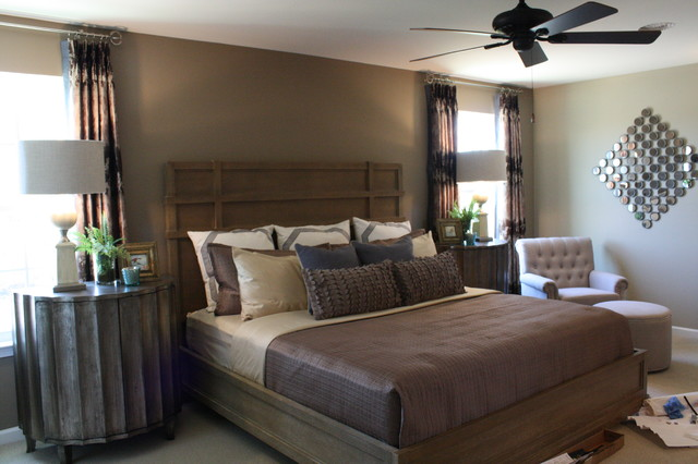 Neutral Colors = Easy Living - Contemporary - Bedroom - Atlanta - by ...