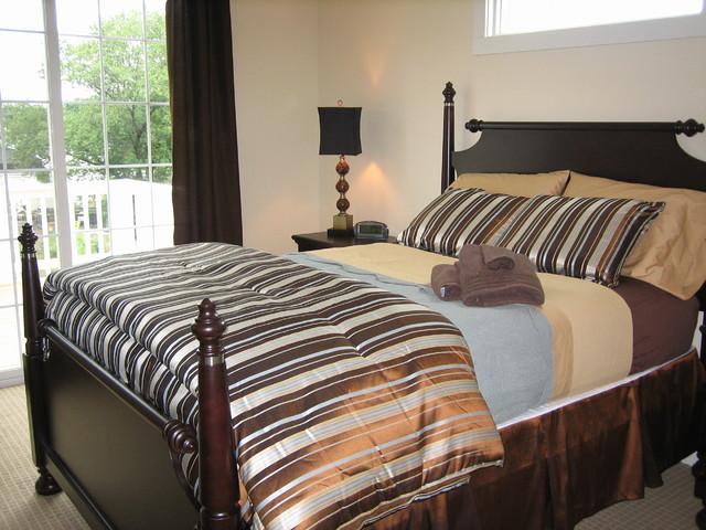 New Buffalo: Urban beach-style-bedroom