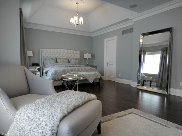 New Build Decorating Project In Toronto On Contemporary Bedroom