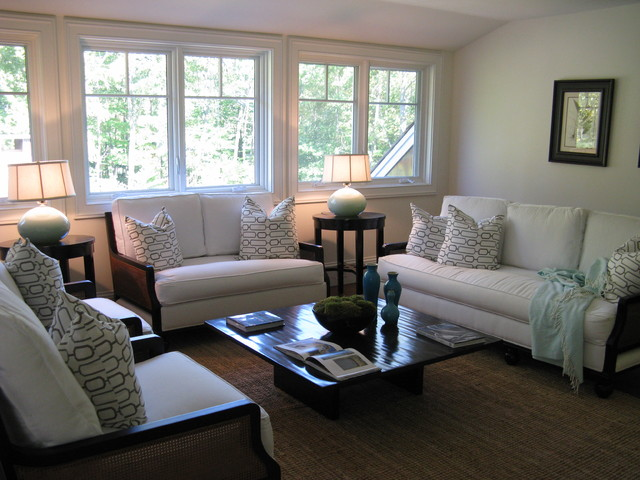New Canaan Picturesque traditional-bedroom