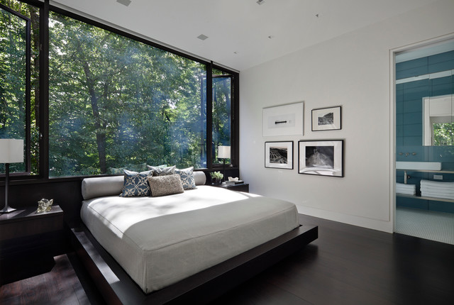 Modern Bedroom Photos new canaan residence - modern - bedroom - new york -specht