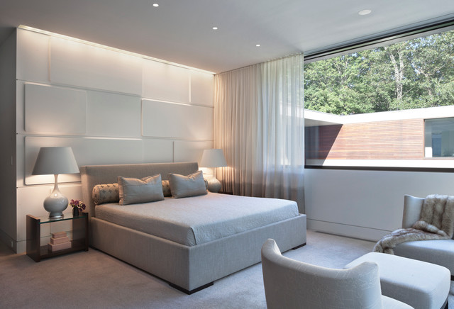 Wonderful New Canaan Residence Modern Bedroom