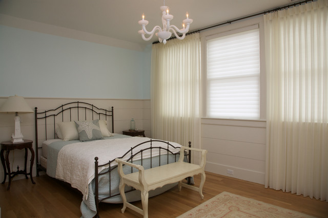 New cape cod home beach style bedroom boston by encore construction - Cape cod style bedroom image ...