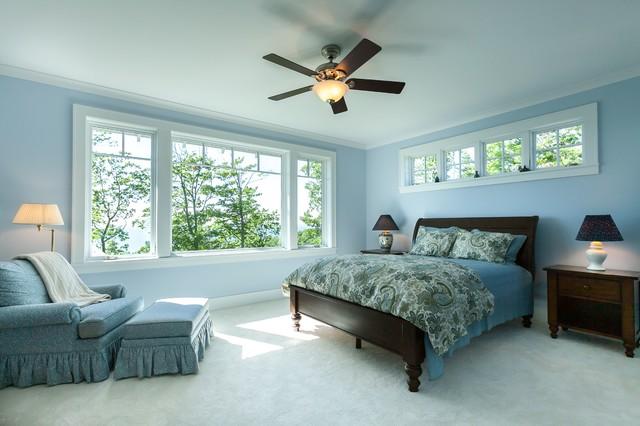New Construction-Lake Leelanau traditional-bedroom