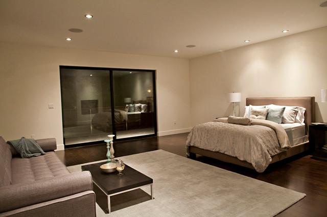 New Contemporary Home in Los Angeles, CA contemporary-bedroom