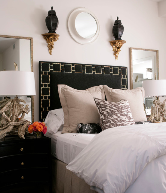 Transitional Bedroom Design Ideas With Flat Tv: New England Home Stamford Magazine Shoot