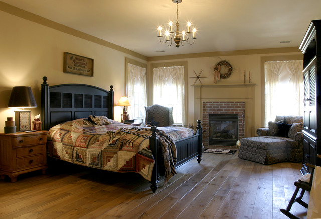 New England Salt Box Style traditional bedroom. New England Salt Box Style   Traditional   Bedroom   Philadelphia
