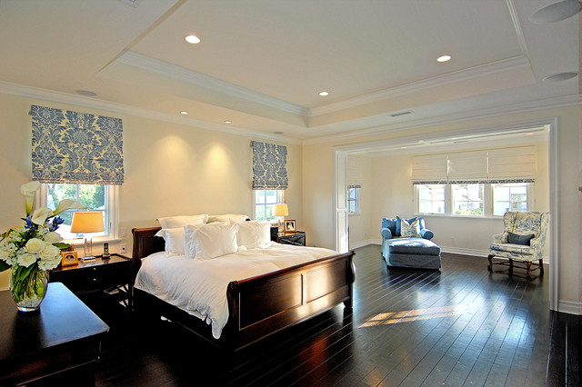 New england traditional traditional bedroom los for New england bedroom