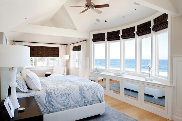 New Hampshire Home Designer Linda Holman Beach Style Bedroom Manchester By Lovelace