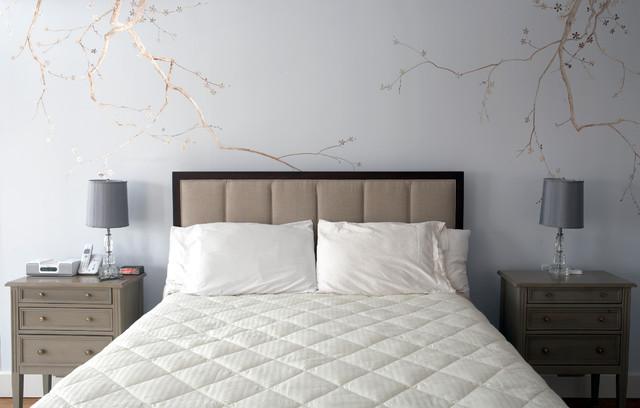 New Jersey Master Suite Renovation eclectic-bedroom