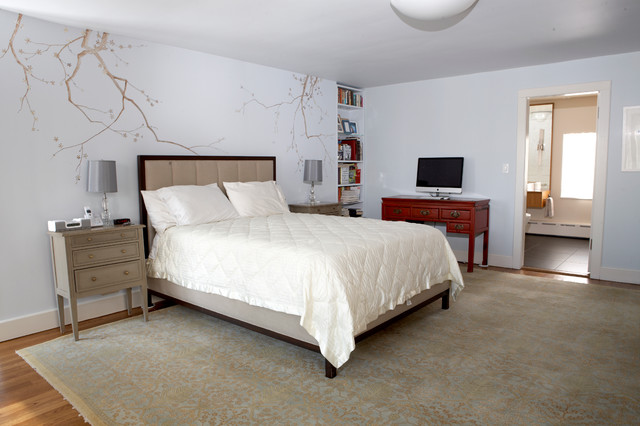 New Jersey Master Suite Renovation eclectic-bedroom