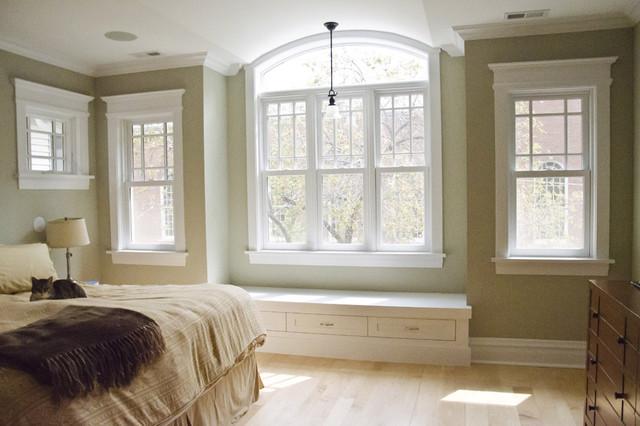 New master bedroom traditional-bedroom
