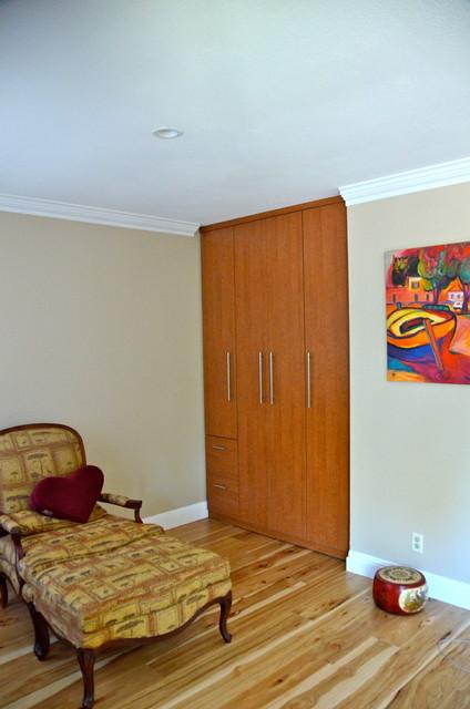 NEW WARDROBE IN RUSTIC CHERRY - JULY 2012 - Contemporary - Bedroom ...