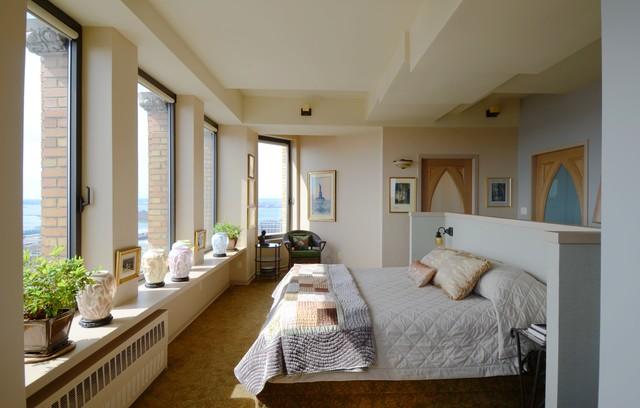 New York Loft eclectic-bedroom