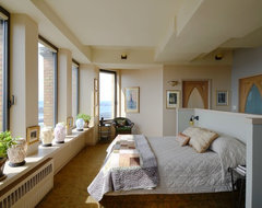 New York Loft eclectic-bedroom
