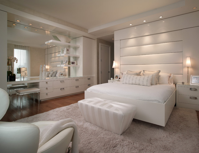New york - Manhattan - Denier - residence contemporary bedroom