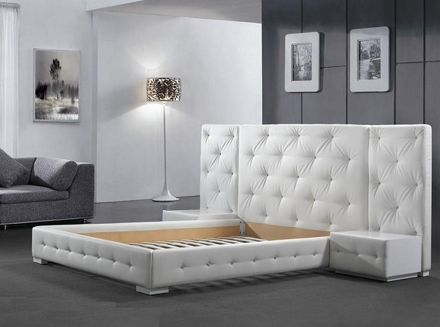 New York NYC Modern Platform Bed Reims - $1,699.00 modern-bedroom