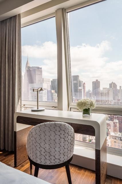 New York Pied A Terre contemporary-bedroom