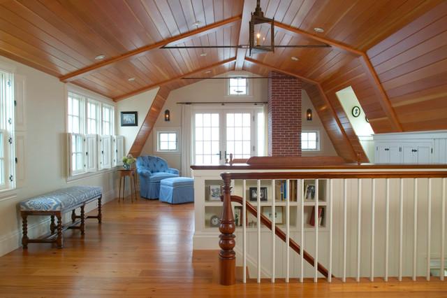 Newburyport Riverside Home Master Bedroom Rustic Bedroom Boston By Frank Shirley