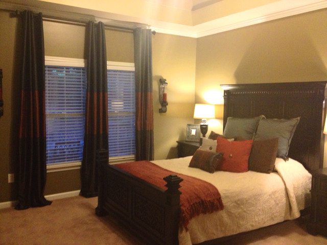 Newly Single Male Project Traditional Bedroom Atlanta By Order By Design Inc