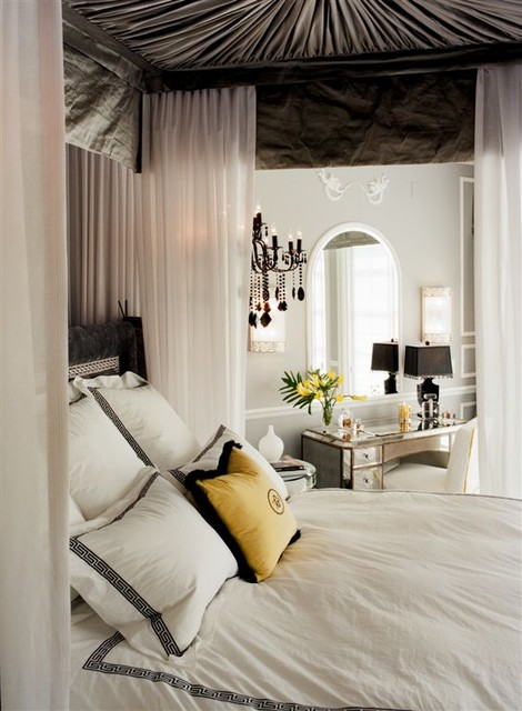 Newlyweds home traditional bedroom