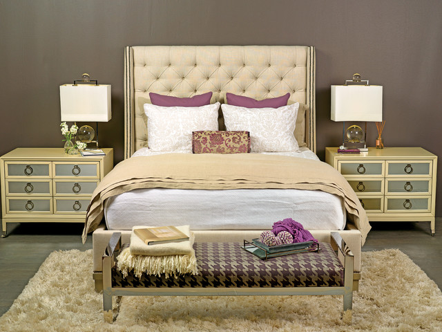 Fashion Bedroom Furniture New Next Stop Luxury  Cleo Bed  Eclectic  Bedroom  Houston . 2017